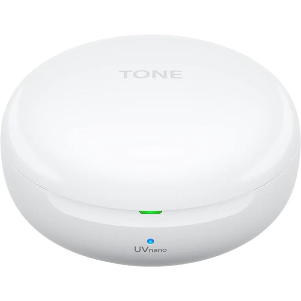 LG In-Ear-Kopfhörer »TONE Free FN7 Earbuds Kabellose Bluetooth«, Bluetooth, Active Noise Cancelling (ANC)-Sprachsteuerung-kompatibel mit Siri-LED Ladestandsanzeige-Noise-Reduction-UV-Reinigung, Active Noise Cancelling, mit UVnano