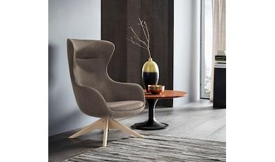 Places of Style Stuhl »Leona«, mit Füßen aus massiver Esche, natur- oder wallnussfarben lackiert kaufen