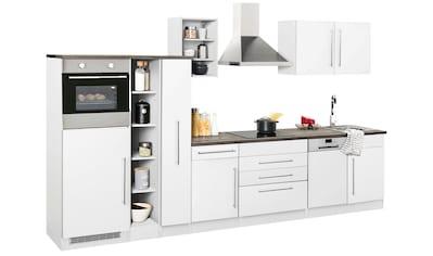 HELD MÖBEL Küchenzeile »Samos«, ohne E-Geräte, Breite 350 cm kaufen
