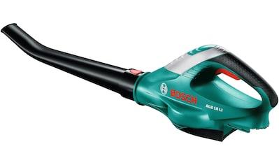 BOSCH Set: Akku - Laubbläser »ALB 18 LI«, 210 km/h Blasgeschwindigkeit, mit Akku, Ladegerät kaufen
