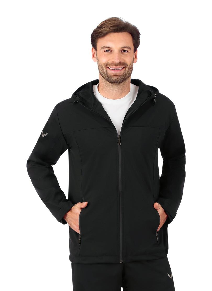 TRIGEMA Leichte Regen-Jacke | Bekleidung > Jacken > Sonstige Jacken | Schwarz | Pu | Trigema