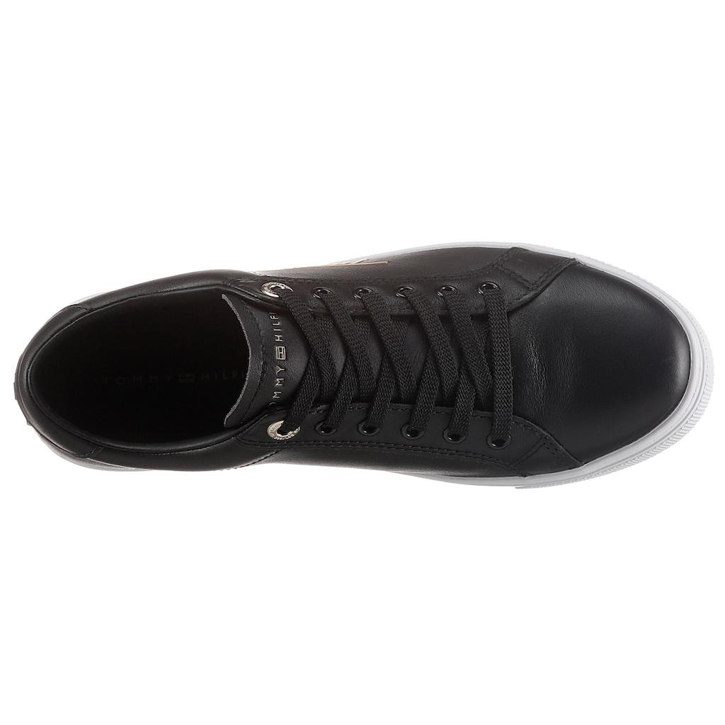 TOMMY HILFIGER Sneaker »TH SIGNATURE CUPSOLE SNEAKER«, mit seitlichem Logoschriftzug