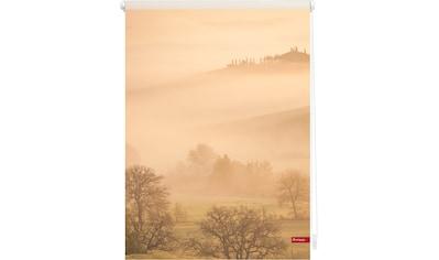 LICHTBLICK Seitenzugrollo »Klemmfix Motiv Toskana«, Lichtschutz, ohne Bohren, freihängend, bedruckt kaufen