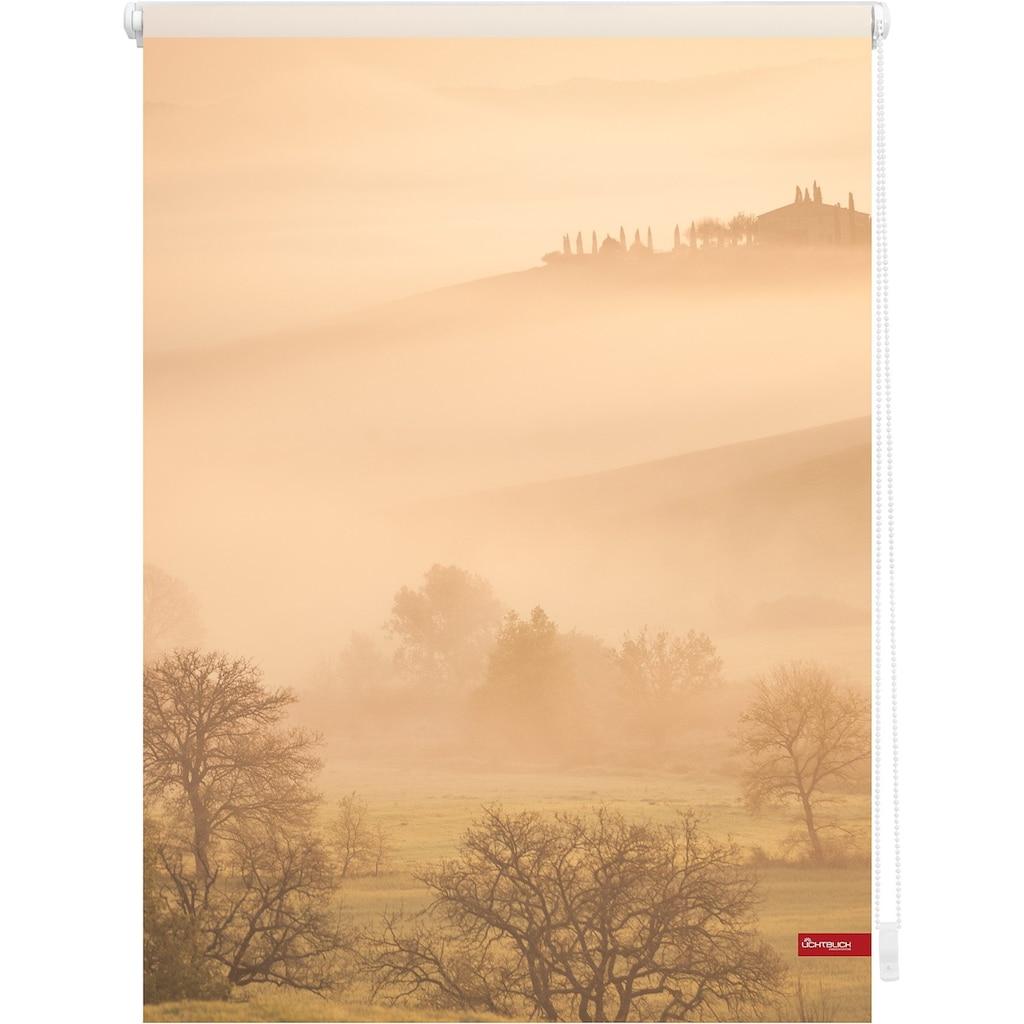 LICHTBLICK ORIGINAL Seitenzugrollo »Klemmfix Motiv Toskana«, Lichtschutz, ohne Bohren, freihängend, bedruckt