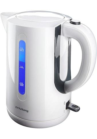 Privileg Wasserkocher, KE7121, 1,5 Liter, 2200 Watt kaufen