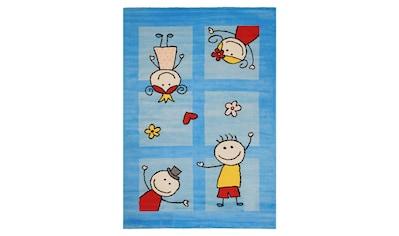 Sanat Kinderteppich »Bambino 2107«, rechteckig, 11 mm Höhe, Kurzflor kaufen