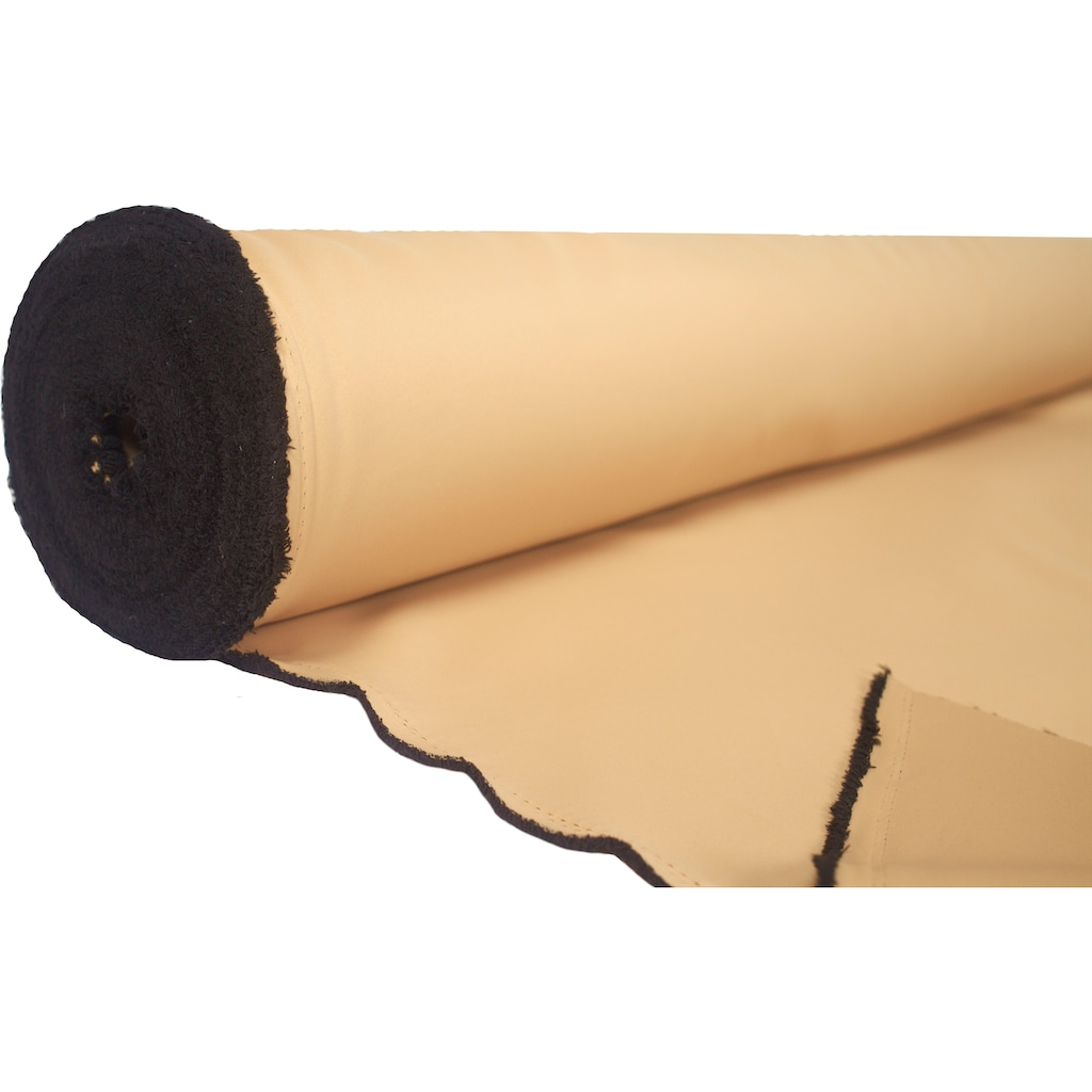 Home Basics Vorhang nach Maß »BLACKY«, Verdunklungsstoff zum selber Nähen!