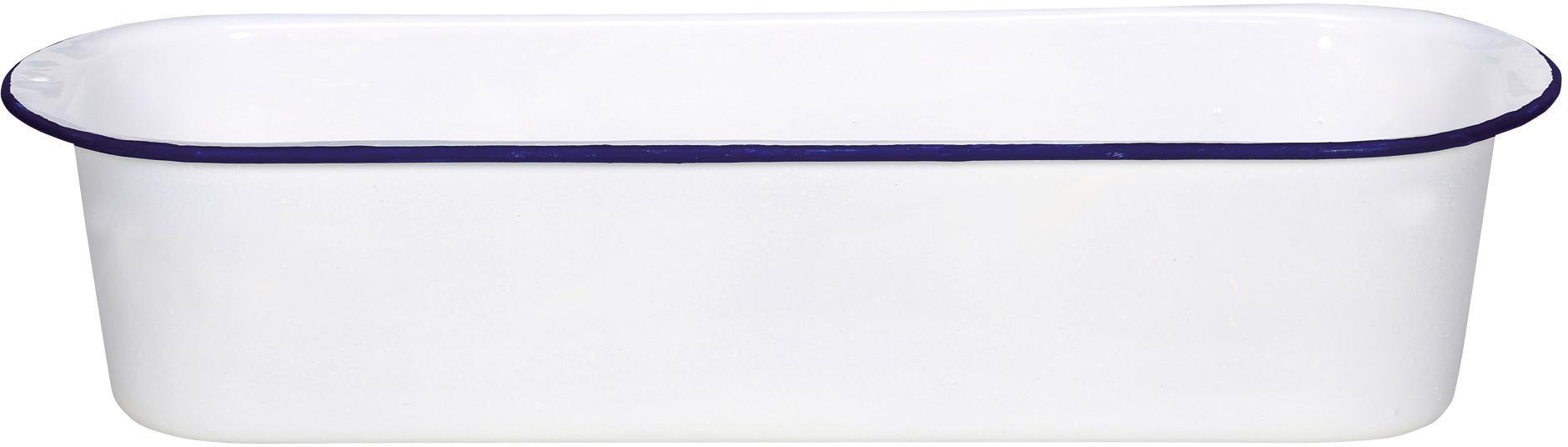 Krüger Brotbackform Husum, 32 cm weiß Backformen Backbleche Kochen Backen Haushaltswaren