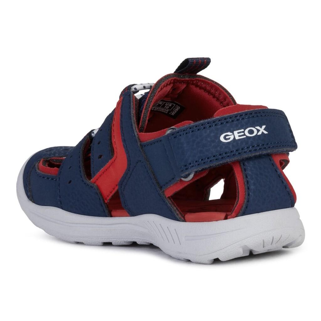 Geox Kids Sandale, mit Fersenklettverschluss