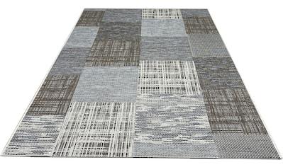 my home Teppich »Ferial«, rechteckig, 4 mm Höhe, In-und Outdoor geeignet, Wohnzimmer kaufen