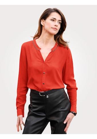 Mona Klassische Bluse, aus reiner Viskose kaufen