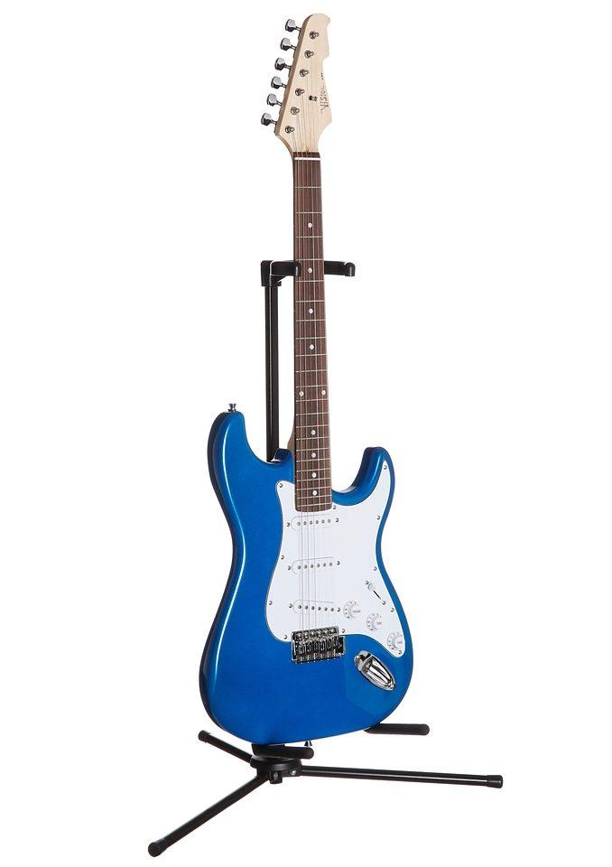 Elektrische Gitarre für Rechts- und Linkshänder...