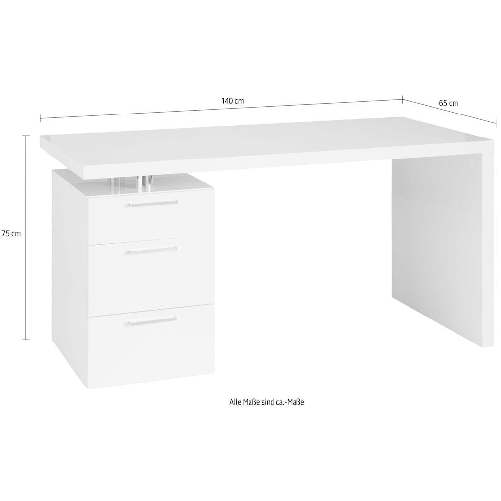 HMW Collection Schreibtisch »Match«, Breite 140 cm