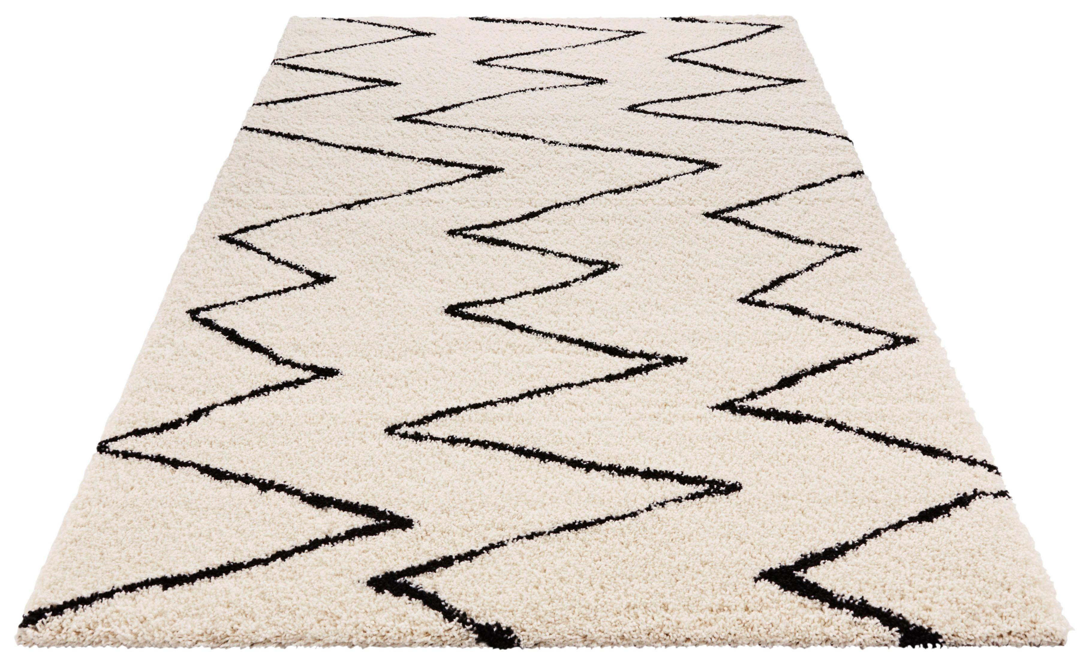 Hochflor-Teppich Break MINT RUGS rechteckig Höhe 35 mm maschinell gewebt