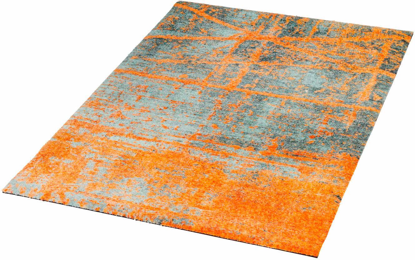 Läufer Rustic wash+dry by Kleen-Tex rechteckig Höhe 9 mm gedruckt