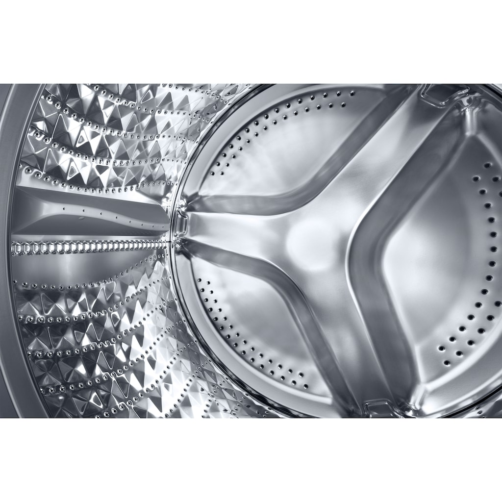 Samsung Waschmaschine »WW70TA049AX«, WW5000T INOX, WW70TA049AX, 7 kg, 1400 U/min