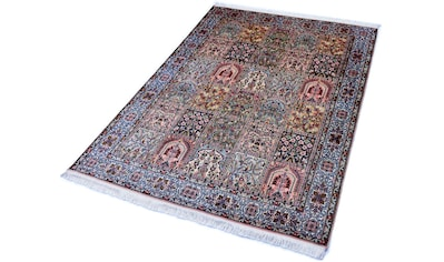 Kayoom Seidenteppich »R.Taj 2381«, rechteckig, 10 mm Höhe, Einzelstück mit Zertifikat,... kaufen