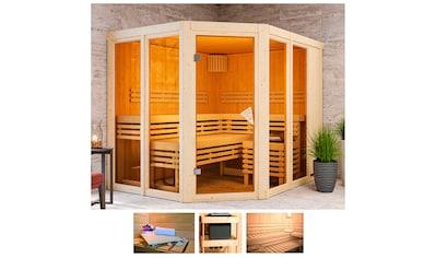 KARIBU Sauna »Aaina 3«, 231x196x198 cm, ohne Ofen kaufen