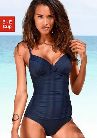 LASCANA Badeanzug »Sienna«, mit eleganten Raffungen und Shaping-Effekt kaufen
