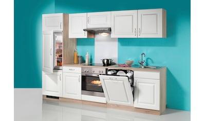wiho Küchen Küchenzeile »Tilda«, mit E-Geräten, inkl. Geschirrspüler, Breite 280 cm kaufen