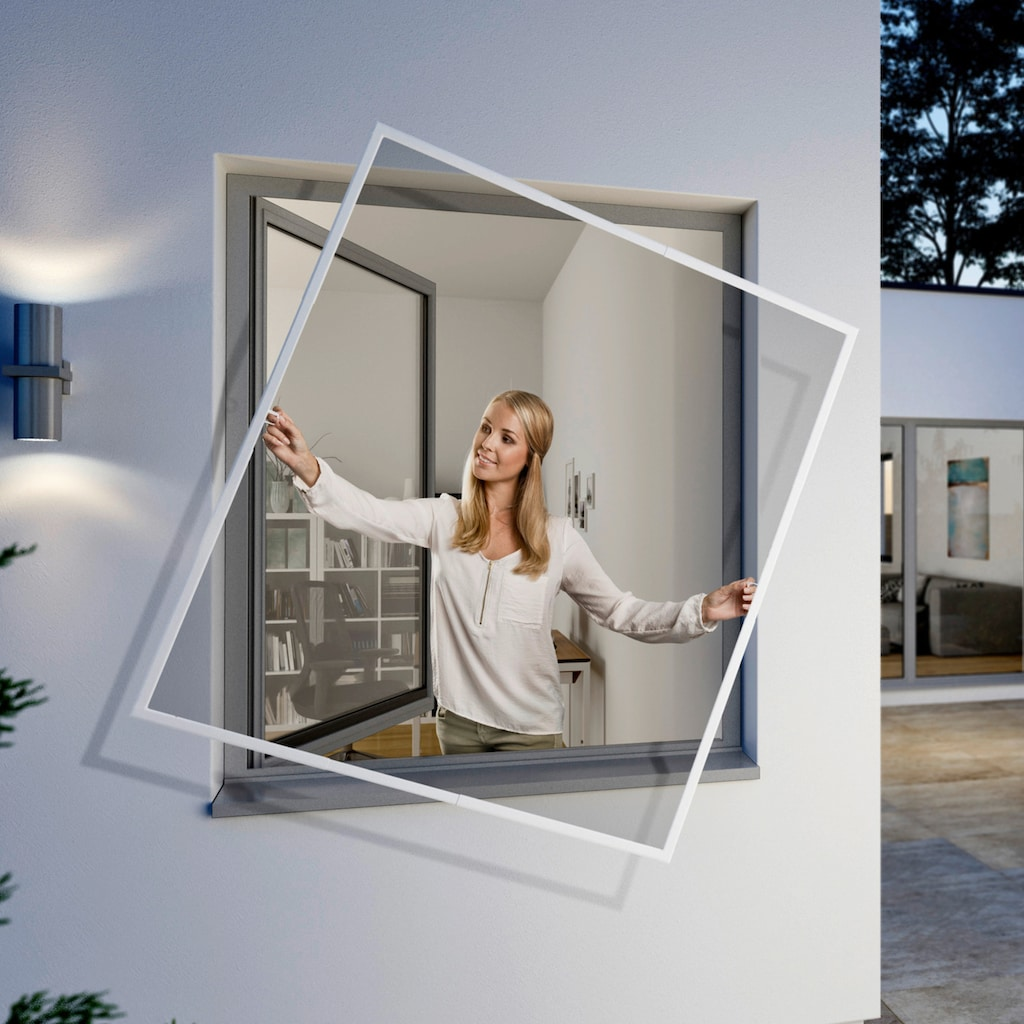 Windhager Insektenschutz-Fenster »FlexiFit«, BxH: 130x150 cm