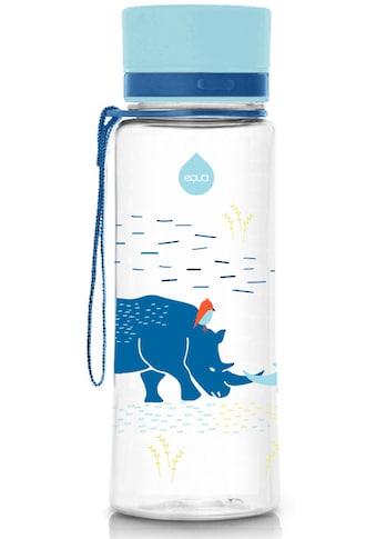 equa Trinkflasche »Kids Rhino«, Tritankunststoff, Inhalt 600 ml kaufen