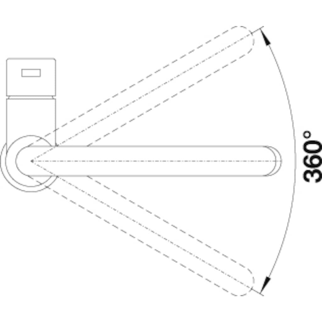 Blanco Küchenarmatur »CANDOR«, Hochdruck, hochwertige Ausführung in massivem Edelstahl