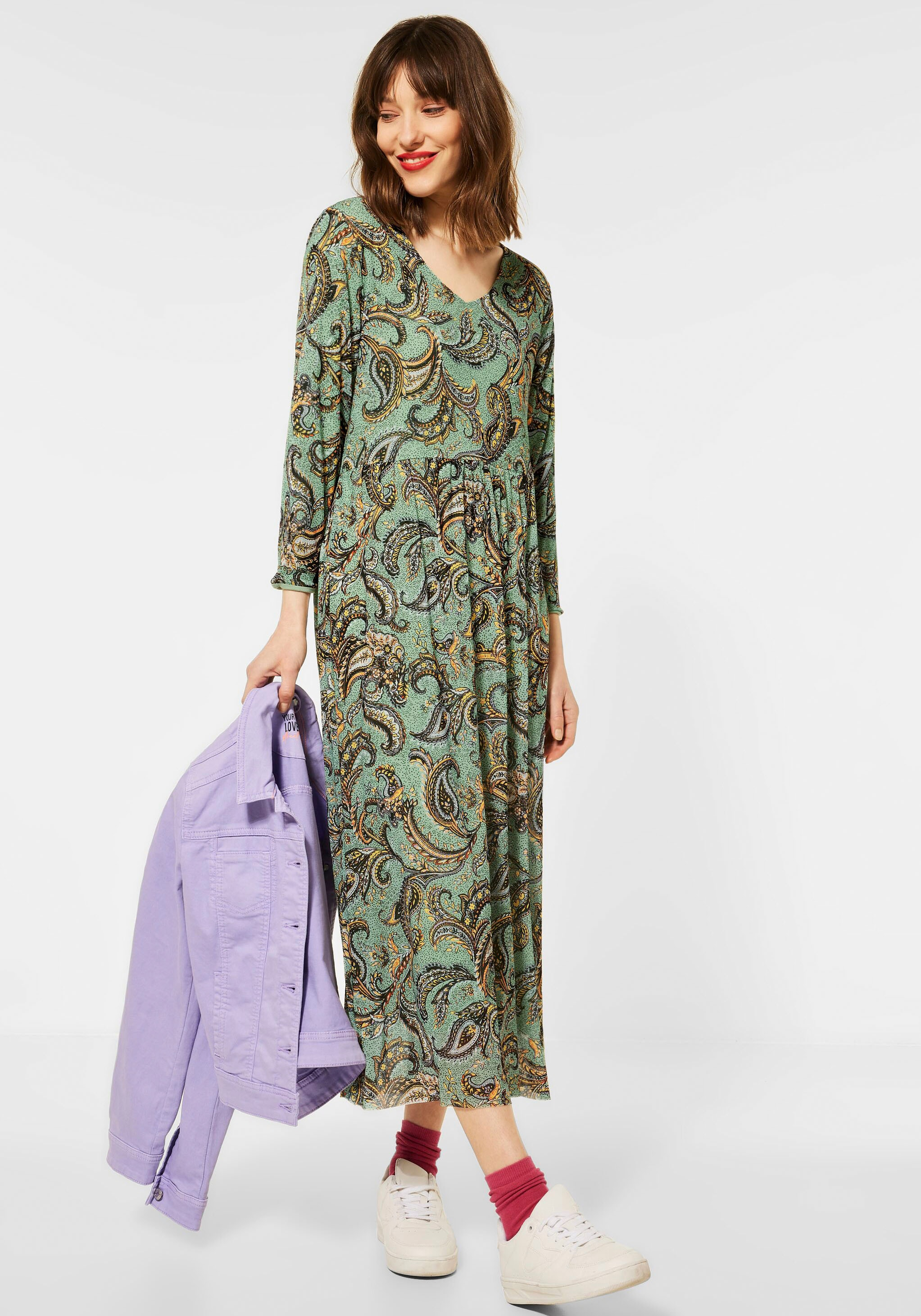 street one -  Maxikleid, mit Paisley-Muster