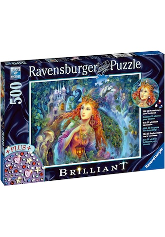 Ravensburger Puzzle »Brillant - Magischer Feenstaub«, mit Dekosteinen zum Verzieren;... kaufen