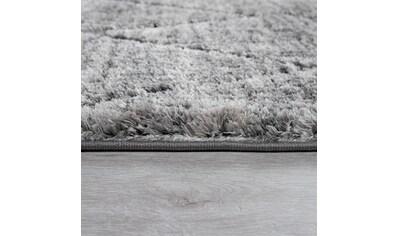 Paco Home Hochflor-Teppich »Ponto 824«, rechteckig, 40 mm Höhe, geometrisches Design,... kaufen