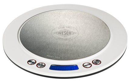 Wesco Küchenwaage DIGITALWAAGE | Küche und Esszimmer > Küchengeräte > Küchenwaagen | Weiß | Edelstahl | Wesco