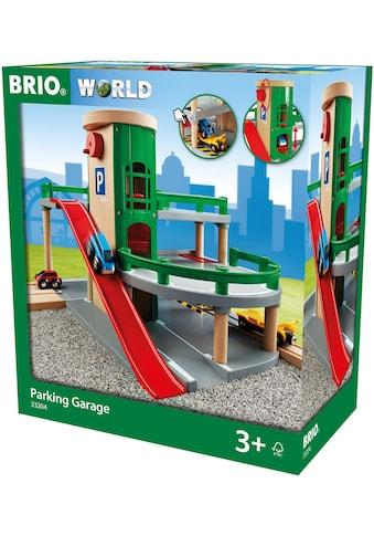 BRIO® Spiel-Parkhaus »Brio WORLD Parkhaus, Straßen & Schienen«, FSC®-Holz aus... kaufen