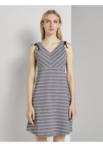 TOM TAILOR Jerseykleid »Kurzes Jerseykleid mit Musterung« kaufen