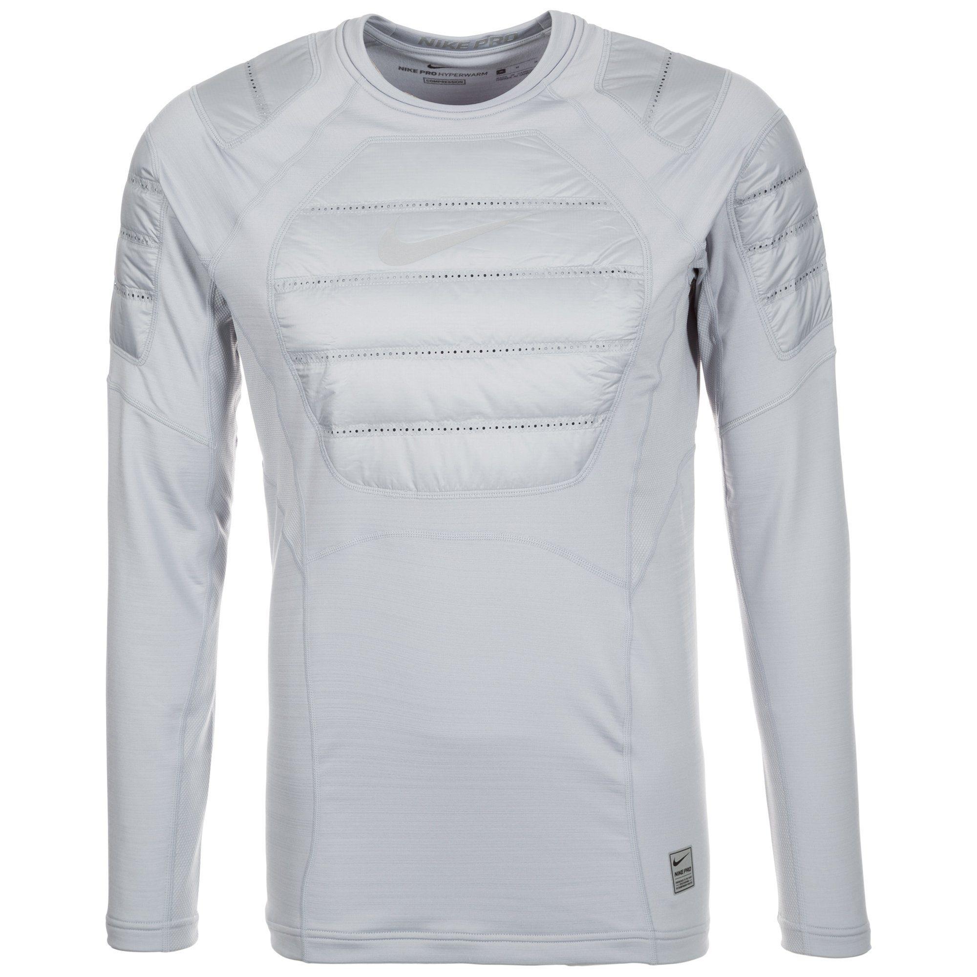 Nike Fleeceshirt »Pro Aeroloft« | Bekleidung > Pullover > Fleecepullover | Grau | Nike