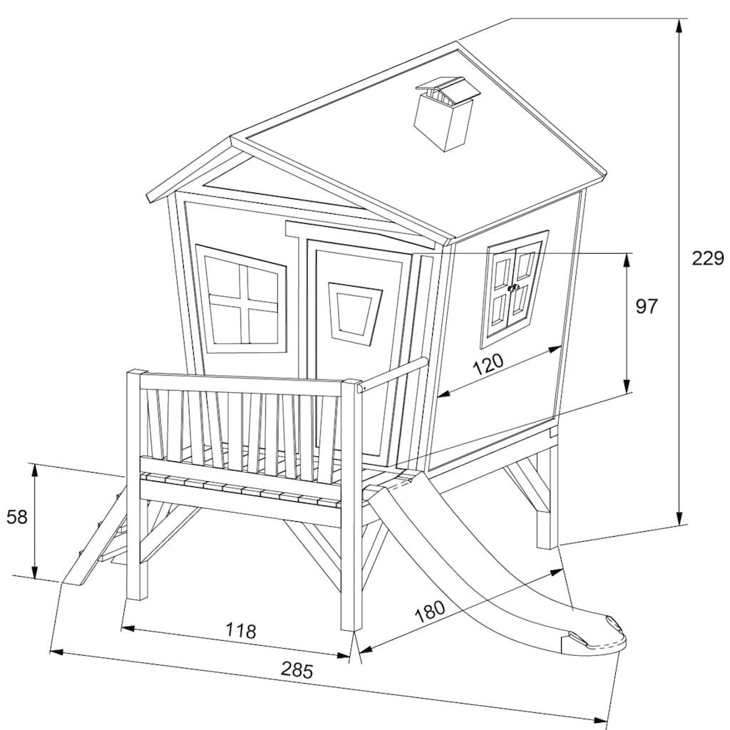AXI Spielturm »Iris«, BxTxH: 287x193x226 cm