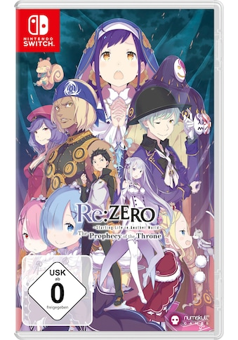 Spiel »RE:Zero - The Prophecy of the Throne«, Nintendo Switch kaufen