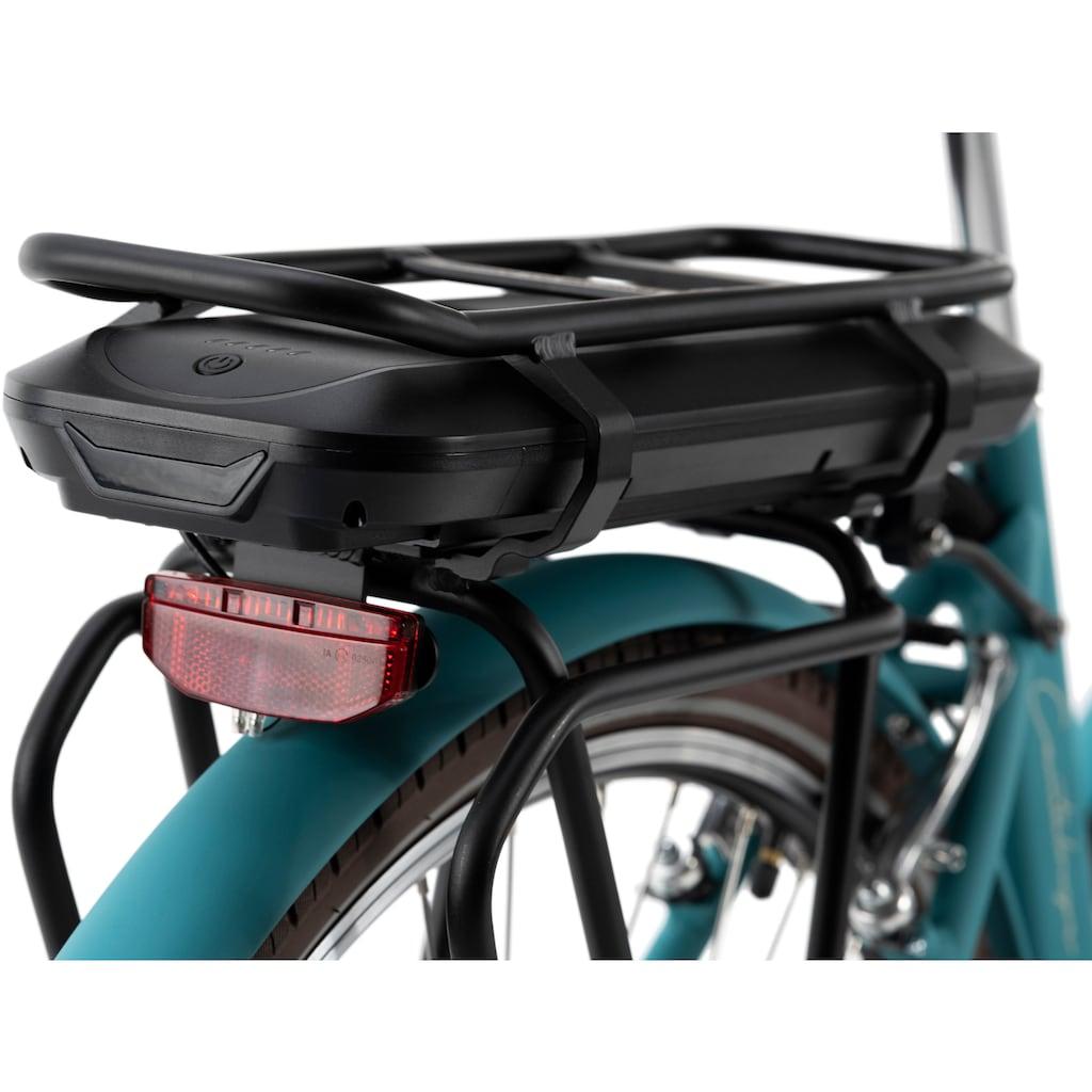Adore E-Bike »Cantaloupe«, 3 Gang, Shimano, Nexus Schaltbox, Frontmotor 250 W, Frontgepäckträger
