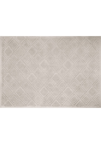 framsohn frottier Badematte »Mosaik«, Höhe 7 mm, beidseitig nutzbar, reine Baumwolle kaufen