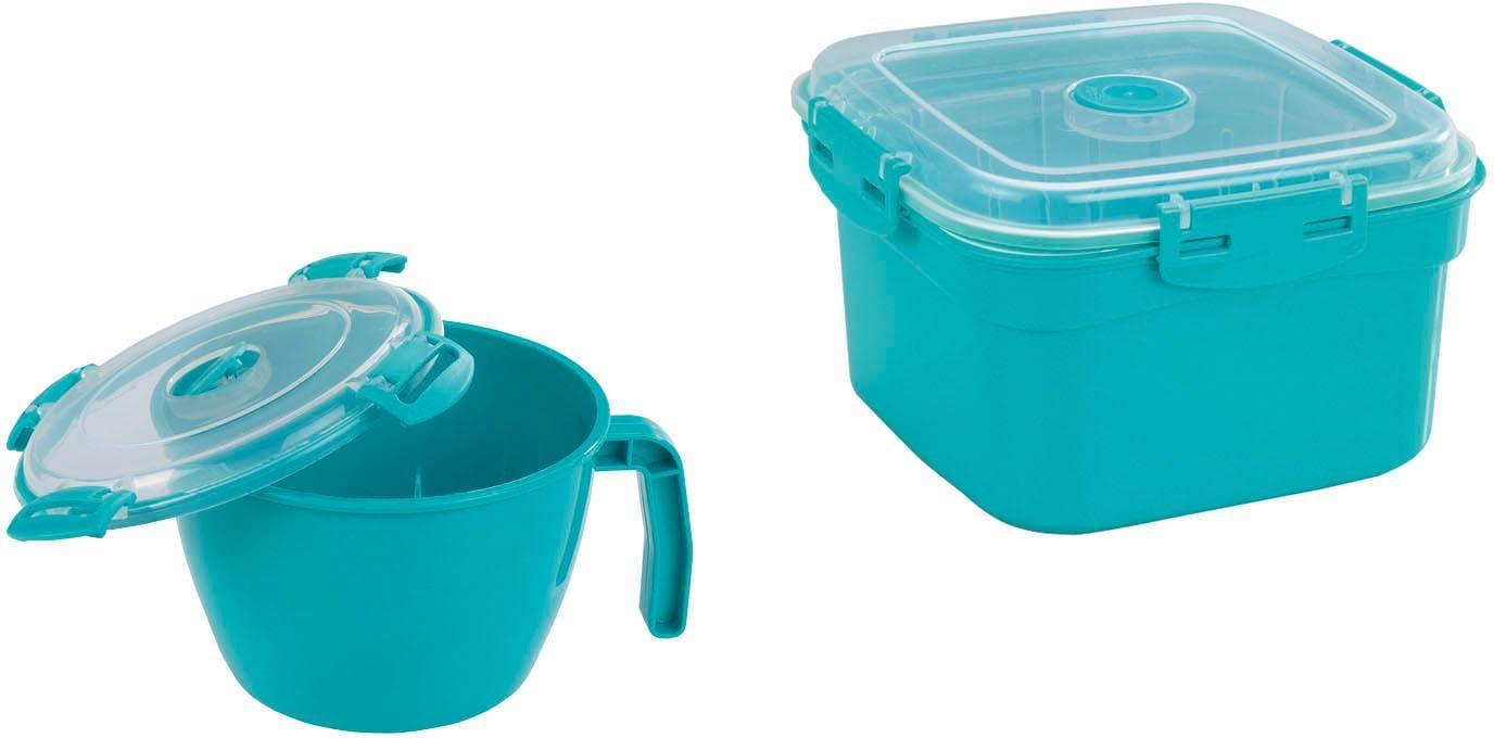 WENKO Mikrowellenbehälter (Set 2-tlg) Wohnen/Haushalt/Haushaltswaren/Kochen & Backen/Mikrowellengeschirr