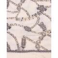 leslii Schal, mit tollem Ketten-Muster