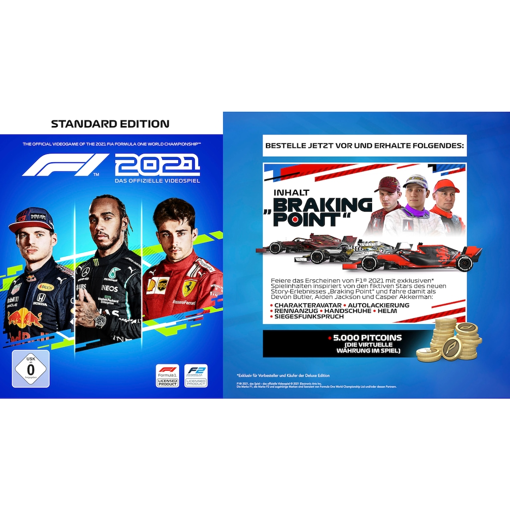 Codemasters Spiel »F1 2021«, Xbox Series X-Xbox One