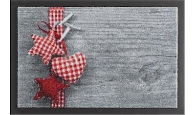 HANSE Home Fußmatte »Stern mit Herz«, rechteckig, 7 mm Höhe, Schmutzfangmatte,... kaufen