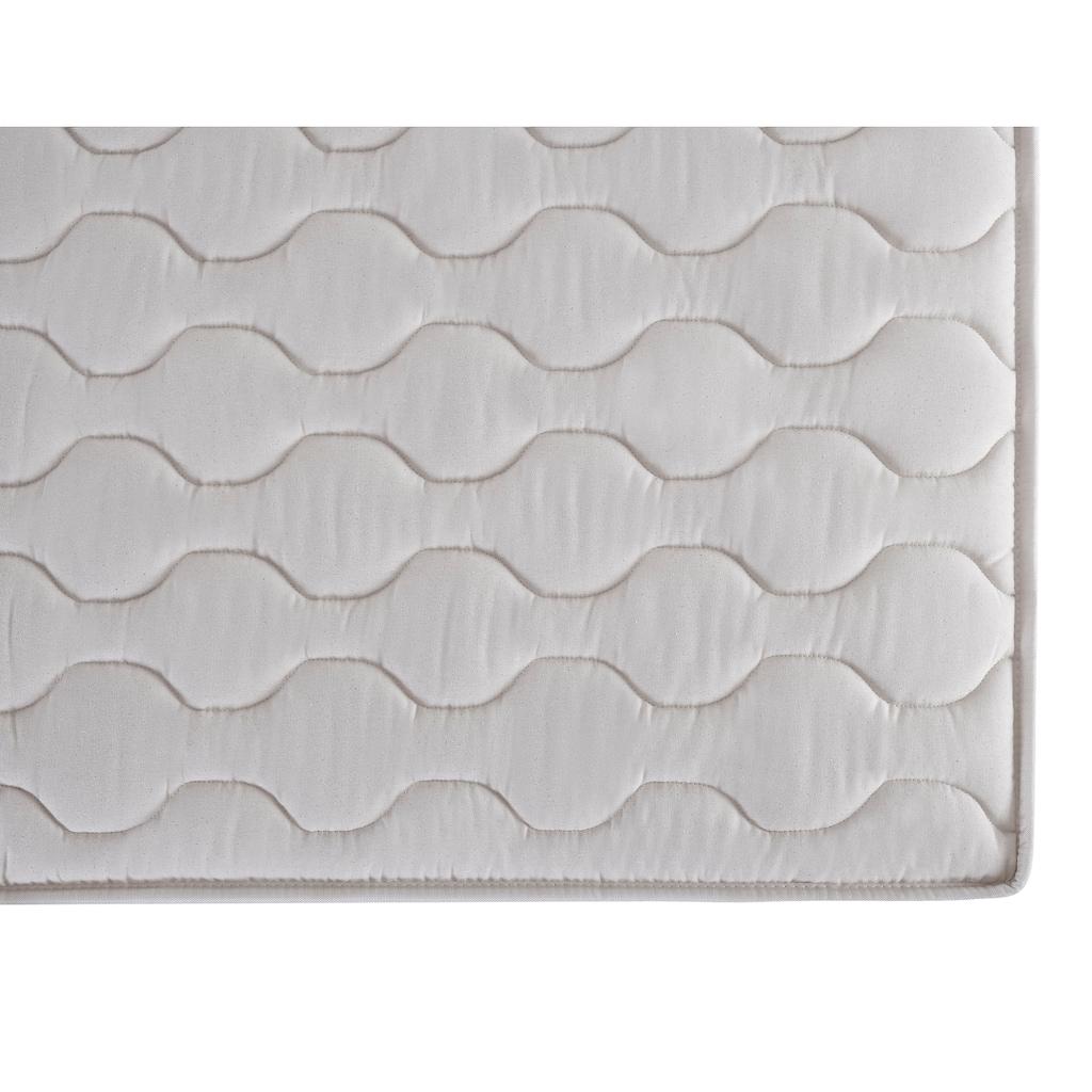 DI QUATTRO Komfortschaummatratze »Wendematratze Air Komfort 23cm hoch mit Baumwollbezug«, (1 St.), deutlich verbesserter Feuchtigkeitsausgleich dank natürlichem Bezug