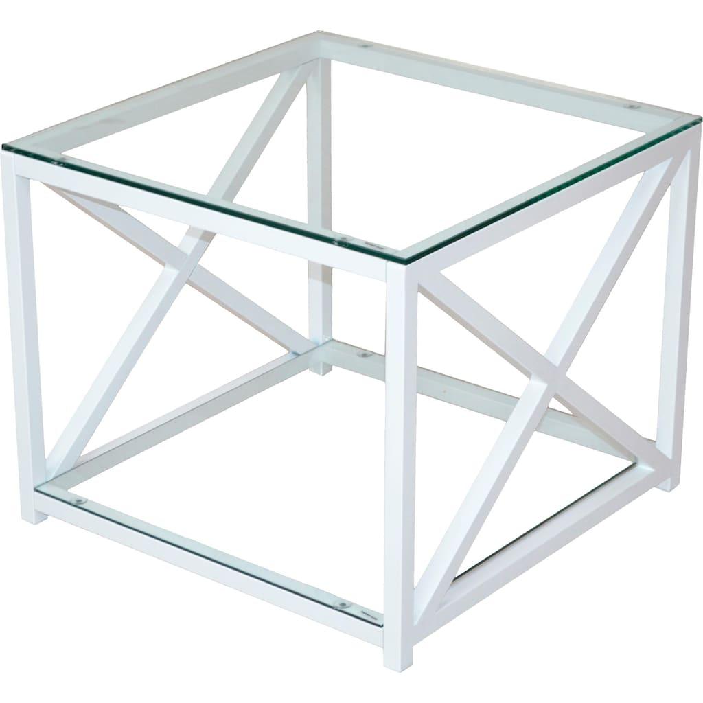 Home affaire Couchtisch, mit 2 Sicherheits-Glasböden