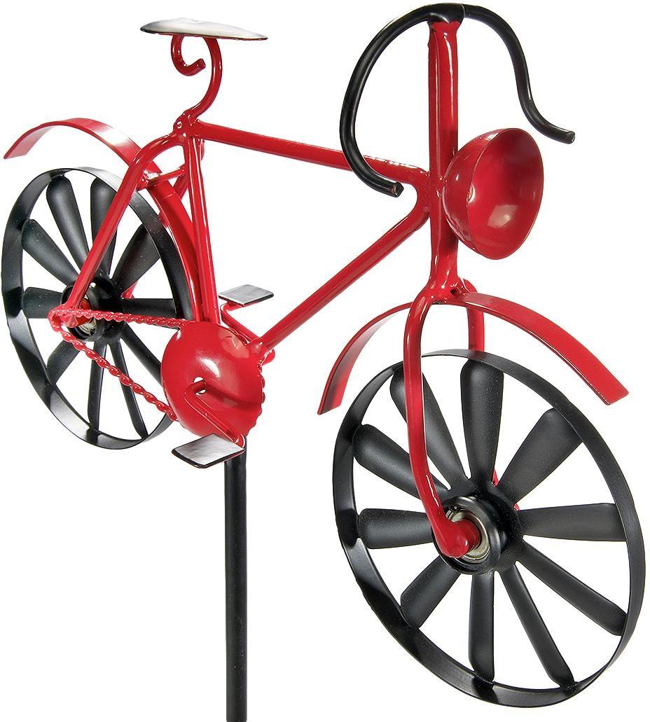 Home affaire Deko-Windrad Red Bike Wohnen/Möbel/Gartenmöbel & Gartendeko/Gartendekoration/Weitere Gartendekoration