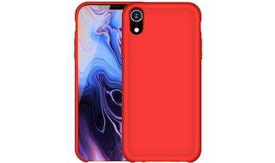 PEDEA Handytasche »Liquid Silicone Case für Apple iPhone XR« kaufen