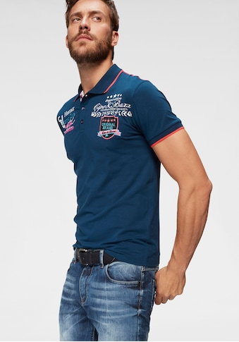 Cipo & Baxx Poloshirt »Rowing Club« kaufen
