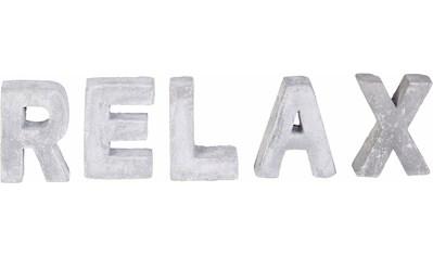 Home affaire Dekoobjekt »RELAX« kaufen