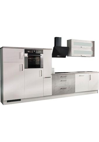 RESPEKTA Küchenzeile »Lier«, mit E-Geräten, Breite 350 cm kaufen