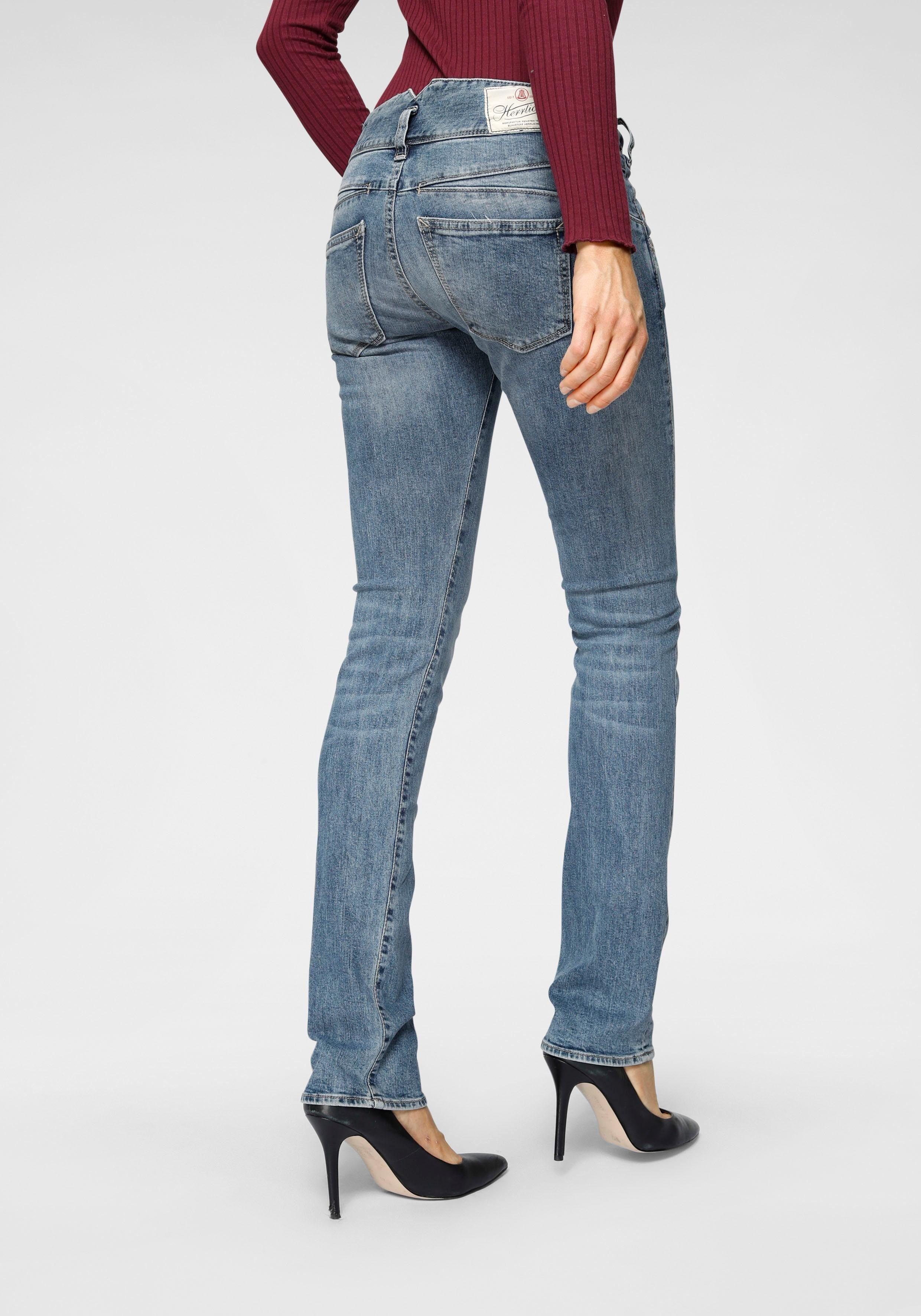 Herrlicher Gerade Jeans PEARL STRAIGHT | Bekleidung > Jeans > Gerade Jeans | Herrlicher